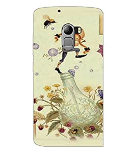 PrintDhaba Cartoon D-2655 Back Case Cover for LENOVO VIBE K4 NOTE (Multi-Coloured)