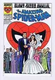 Amazing Spider-Man Annual #21 Wedding Issue 1st print