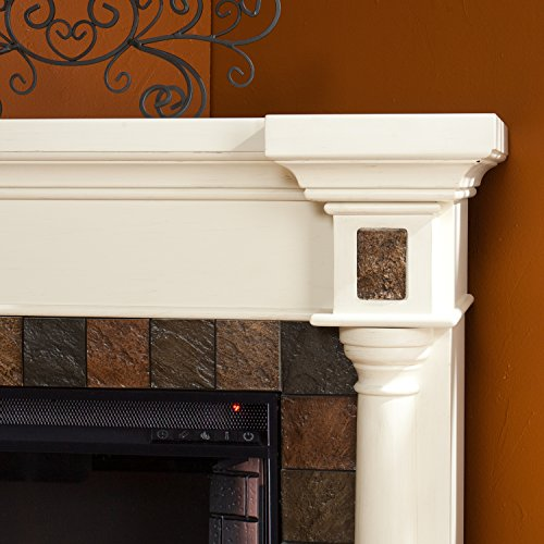 Faux Slate Convertible Corner or Flat Wall Electric