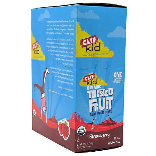 Clif Bar Clif Kid Twisted Fruit - Box of 18