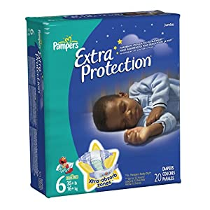 Pampers Extra Protection Diapers Big Pack
