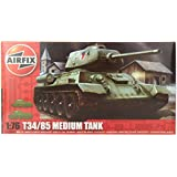 Airfix A01316 T34 Tank 1:76 Scale Series 1 Plastic Model Kit