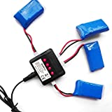 Aukru-4-IN-1-1-X4-Batterie-Ladegeraet-Ladebox-ladekabel-fr-Hubsan-X4-Quadrocopter-H107-WLtoys-UDI-JXD-Syma