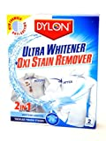 Dylon 2 in 1 Ultra Whitener & Oxi Stain Remover (2 sachets)