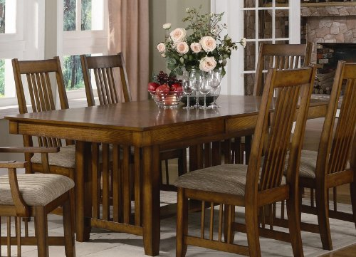 Mission style dining room tables buy dining table mission for Mission style kitchen table