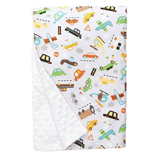 "Baby Elephant Ears Ultra Soft Baby Blanket (XLarge (42""x32""), Vroom)"
