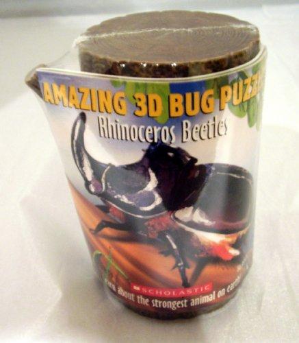 Amazing 3D Bug Puzzle Rhinoceros Beetle - 1