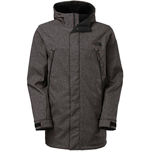 The North Face Apex Bionic Trench Jacket - Men's Graphite Grey Heather, L (The North Face Breeze compare prices)