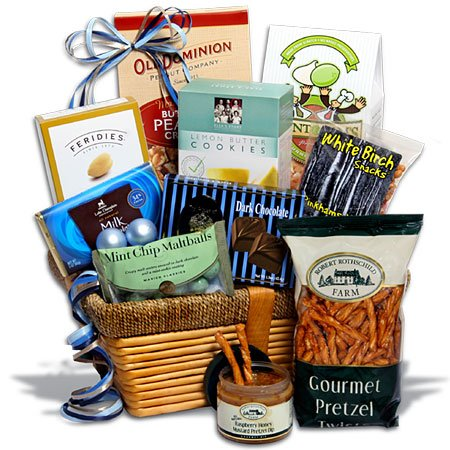 Kosher Hanukkah Gift Basket Classic