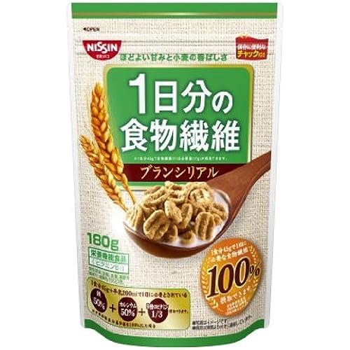 닛신 시스코 1일분의 음식물 섬유 블랑 시리얼 180g×6 포