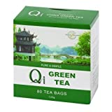 Qi Green Tea Pure & Simple 80 Bag - CLF-QI-GTN125