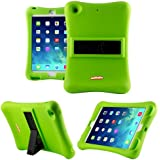 iPad Mini Case, Anitoon Amplifier Speaker iPad Mini Case [Fits iPad Mini 3/2/1 Generations] GREEN Cover With Armor Body