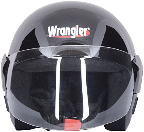 Wrangler Open Face Helmets (Clear)