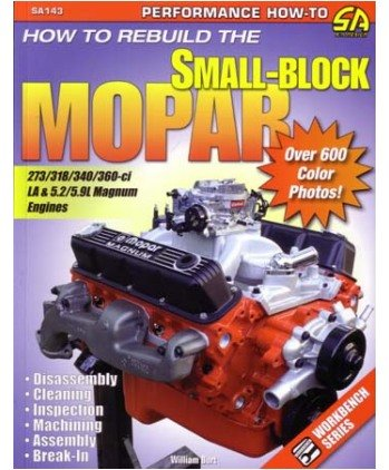 Build Small-Block Mopar 273/318/340/360/5.2/5.9 Engine Shop Service Manual (318 Engine Block compare prices)
