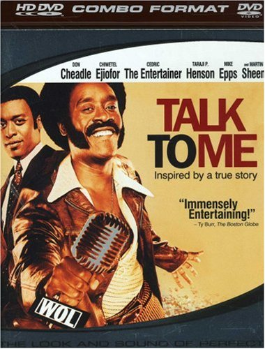 Cover art for  Talk to Me (Single-Disc HD/DVD Combo) [HD DVD]