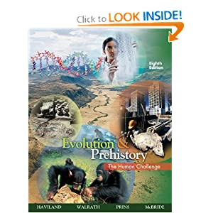 Evolution and Prehistory - William A.(William