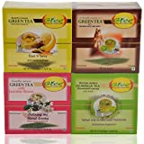 GTEE Green Tea Bags - Lemon & Ginger & Green Tea Bags-Jasmine & Green Tea Bags - Ginseng & Moringa Tea Bags (10...