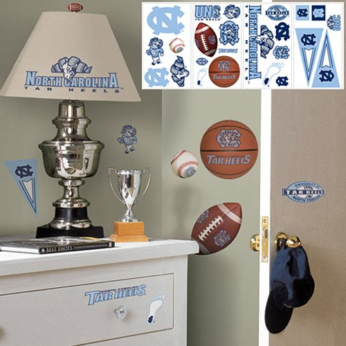 RoomMates North Carolina Tar Heels Wall Stickers - 1