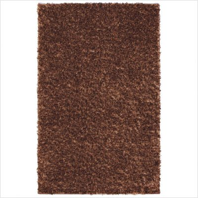 Mohawk Select 60600/60015 Metal Flake Foxfire Copper Strike Shag Rug Size: 5' x 8'