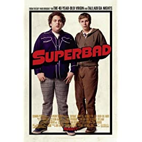 Superbad Movies Double-sided Poster Print, 27x41