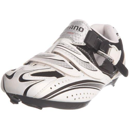 Shimano Men's R087 White/Black Cycling Shoe BR08744 9 UK