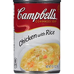 Campbell\'s Condensed Soup, Chicken with Rice, 10.5 Ounce (Pack of 24)