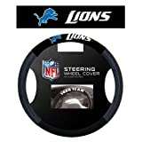 Fremont Die- Inc. 98521 Poly-Suede Steering Wheel Cover - Detroit Lions