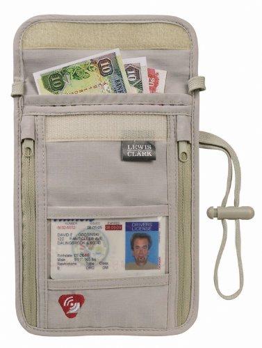 Lewis N. Clark Luggage Rfid Neck Stash
