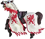 Papo - Dragon Horse Red