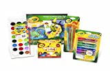 Crayola Arts & Crafts Paint Kit, featuring Glitter Glue, Washable Watercolors, Washable Kids' Paint and Marker & Watercolor Pad