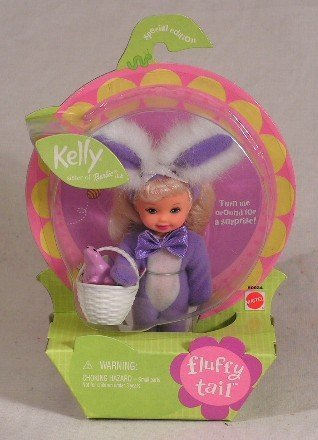 Barbie Fluffy Tail Kelly Doll by Mattel