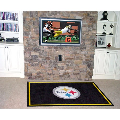 Fanmats Pittsburgh Steelers 5'x8' Rug