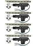 Universal Car Power Door Lock Actuator 12-Volt Motor (4 Pack)