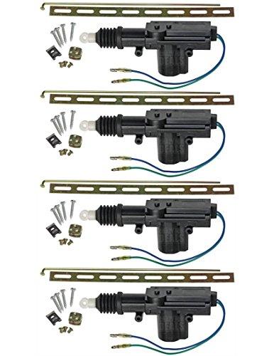 Universal car power door lock actuator 12 volt motor 4 for 12 volt door latch