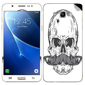 Theskinmantra Skull Mustache SKIN/STICKER for Samsung Galaxy J5 (2016 Edition)