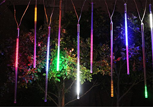 Alkbo-Color-Meteor-Shower-Rain-Lights-Waterproof-String-for-Wedding-Party-Christmas-Xmas-Decoration-Tree-Party-Garden-Xmas-String-Light-Outdoor-10FT-8-Tube