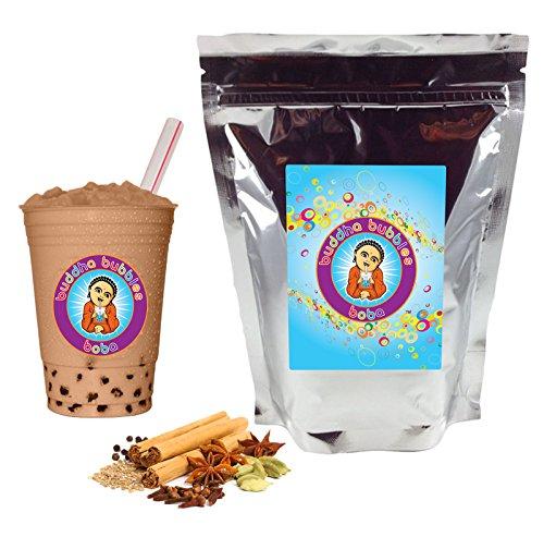 Spiced Chai Tea Latte Boba Bubble Tea Powder Mix 1 Pound By Buddha Bubbles Boba