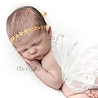 Flower Wrap in Matte Gold with Gold Color Rhinestones from Chic Crystals