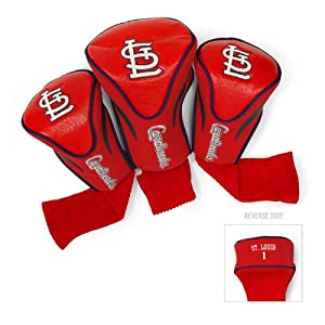 MLB St. Louis Cardinals Contour Head Cover (Pack of 3), Navy by Team Golf