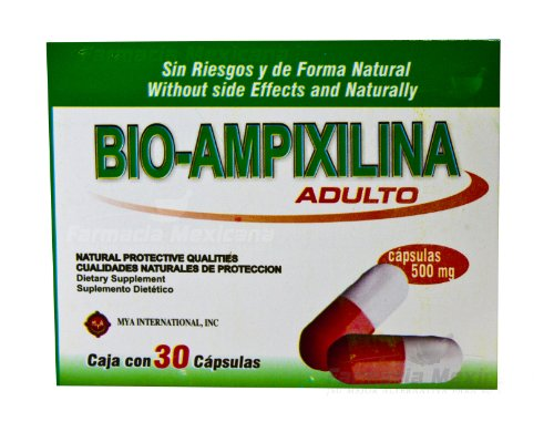 Bio Ampixilina - All Natural Support For Cold & Flu - 30 Capsules