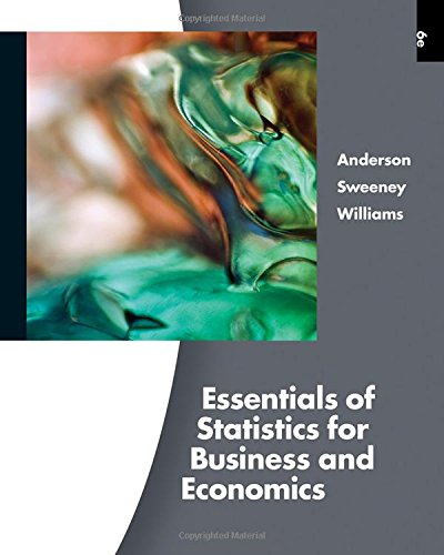 Essentials of Statistics for Business and Economics (with...