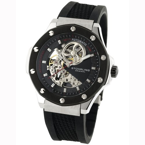 Stuhrling Original Men's Sportsman 'Apocalypse Skeleton' Automatic Watch #160A.332B61