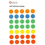 Circle Stickers / 13mm Self-Adhesive Dots - Pack of 140