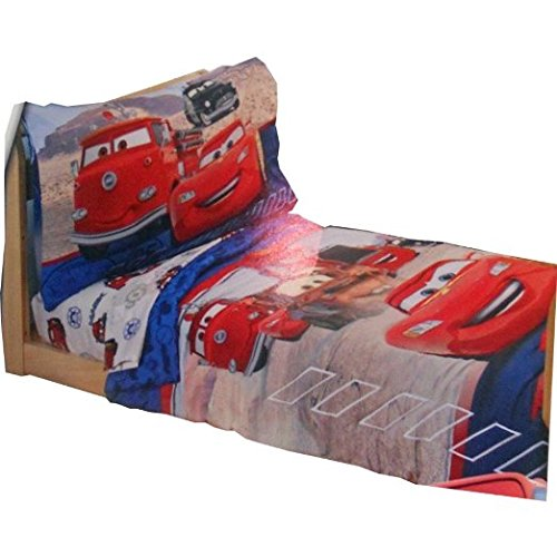 Disney Pixar Cars 4-Piece Toddler Bed Set