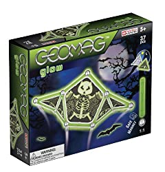 Geomag Ghost Panels 37 Pieces Glow in The Dark