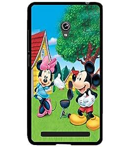 ColourCraft Cartoons Design Back Case Cover for ASUS ZENFONE 6 A600CG