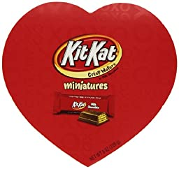 Kit Kat Valentine\'s Miniatures, 8 Ounce Heart Box