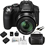Panasonic Lumix FZ200 Digital Camera with SSE 16GB Point & Shoot Advanced Package