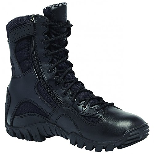 Side Zip Hot Weather Black Tactical Boots