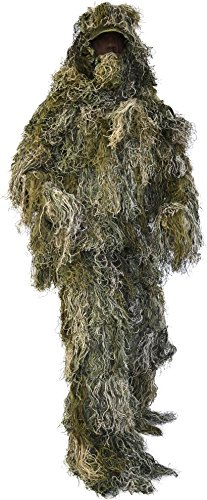 "'Completo Tuta ""Ghillie Suit (giacca, pantaloni, copricapo e gewehrabdeckung), woodland"